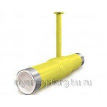 Кран шаровый стальной LD м/м