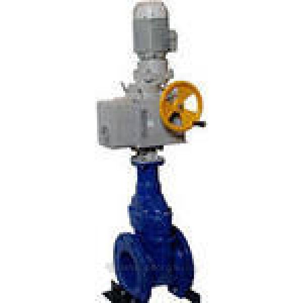 Задвижка параллельная с выдвижным шпинделем, с электроприводом
