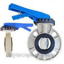 Затворы дисковые поворотные DENDOR серии 031PW пластиковые межфланцевые