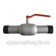 Кран шаровый 11с67п-Ц стальной проходной под приварку (цельносварной)