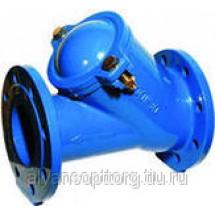 Клапаны DENDOR 012F обратные чугунные шаровые фланцевые