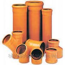 Трубы полипропиленовые для наружной канализации и фасонные части к ним
