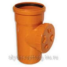 Трубы НПВХ для наружной канализации и фасонные части к ним