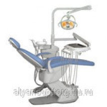 """Комплект оборудования рабочего места врача-стоматолога """"Дарта®""""(комплект 2000,БННП), с осветителем ALYA"""
