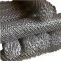 Сетка рабица оцинкованная10x10x1Раскрой 3х10, за метр кв.