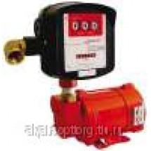 SAG-500 (б/п) насос для топлива, бензина, керосина, со счетчиком механическим.