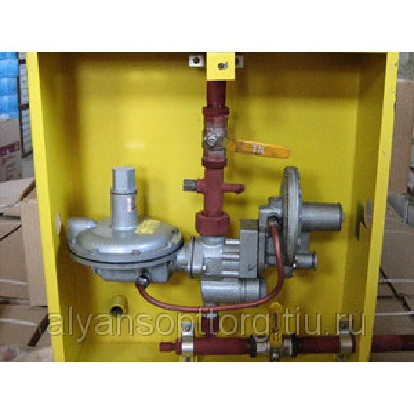 Газорегуляторные пункты шкафные ГРПШ-10 с регуляторами РДГБ-10, РДГБ-25